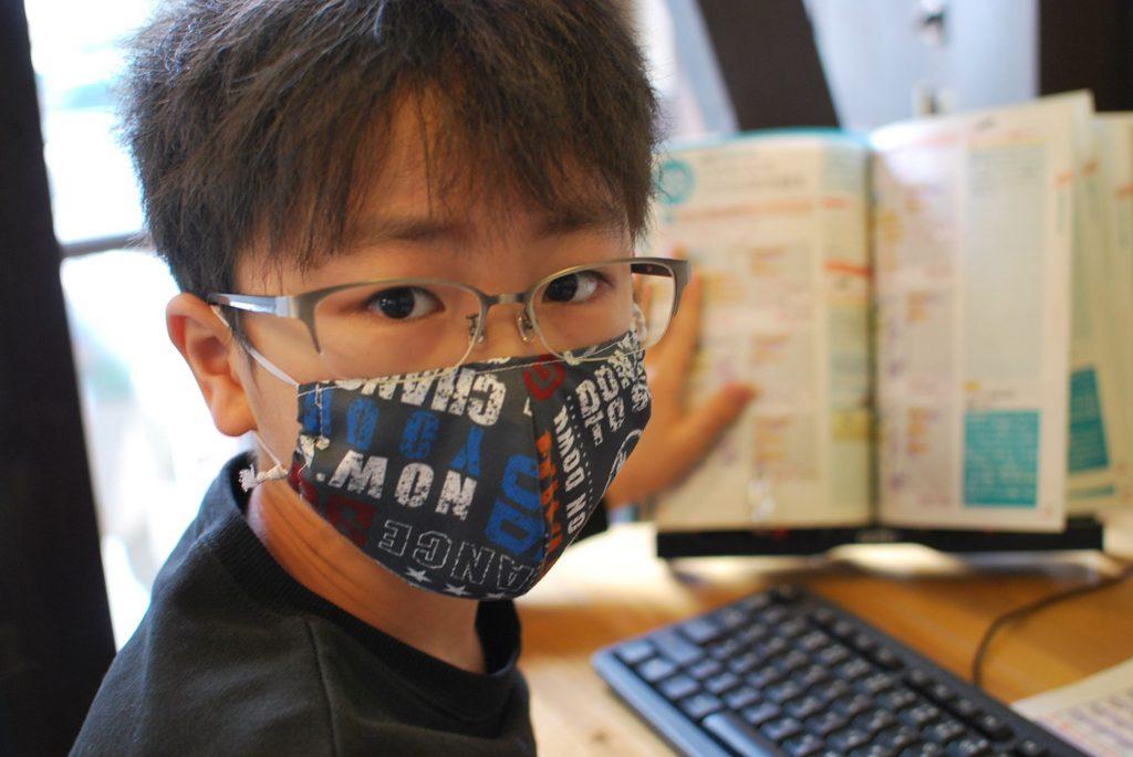 マスク少年
